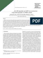 Comparison of ML–EM Algorithm and ART for Reconstruction