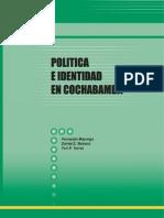 Politica e Identidad en Cochabamba