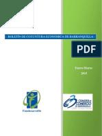 Boletin Economico de Barranquilla I Trimestre 2015
