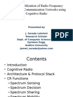 cognitive radio introduction