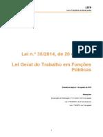 Lei Geral do Trabalho em Funções Públicas (com anotações)