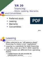 Hybrid Financing: