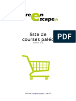 Liste Courses Paleo