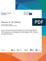 Eleanor R M Waters MA Thesis