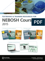 Textbooks and Training Resources for NEBOSH Courses
