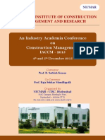 1Conference Brochure - IACCM 2015