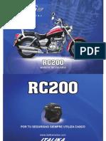 Moto Italika RC200