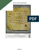 Letters of Prophet SAWW