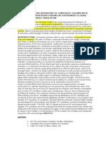 Experimental Study on Behaviour of Composite Column Cft