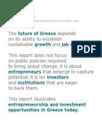 Endeavor Greece Entrepreneurship and Investment Opportunities