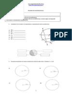 Prueba 8°B Area y perimetro de circunferencias