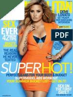 Cosmopolitan August Year 2013