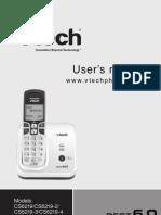 User's Manual Vtech CS6219