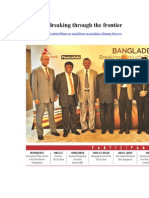Bangladesh Breaking Through the Frontier