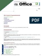 Abrir Arquivos Programaticamente - VBA - Ambiente Office