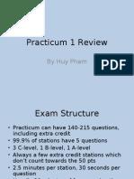 Practicum 1 Review