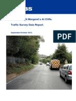 sea street st margarets at cliffe traffic survey report