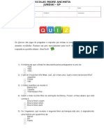 LI - Quiz (Atualizado) (Fazer Em Dupla)