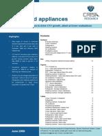 Executive Summary-Household Appliances