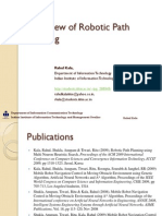 Overview of Robotic Path Planning