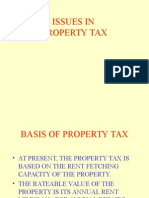 Issues in Property Tax