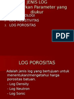Log Porositas