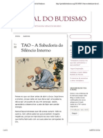 TAO – A Sabedoria do Silêncio Interno | Portal do Budismo