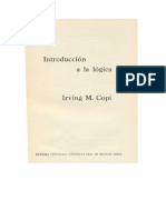 Copi, Irving- Introducción a La Lógica