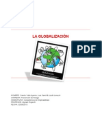 Camilo, Luis y Lizeth Globalizacion