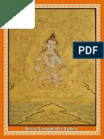 Arya Sanghata Maha Dharmaparyaya Suttram
