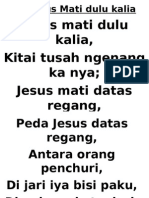 20.Jesus Mati Dulu Kelia