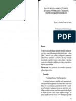 Para Um Modelo Das Relações Entre Eticidade Universalista e Sociedade Política Democrática No Brasil