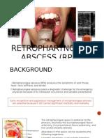 Retropharyngeal Abscess (RPA)