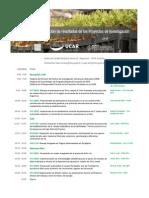 Programa Jornada Presentación Proyectos