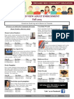 Adult Enrichment Flyer Fall 2015