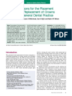 Crowns in General Dental Practice