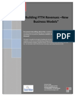 Building FTTH Revenues-New Business Models