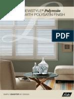 Luxaflex Polyresin Shutters Brochure