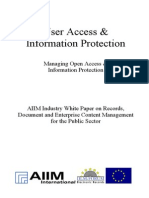[EN] DLM Forum Industry Whitepaper 04 | User Access & Information Protection | IBM | Kim Jasper | Hamburg 2002