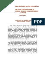 El Universalismo de Jesús en Los Evangelios_Jesús Peláez