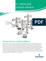 Valves and Electronic Controls Solution