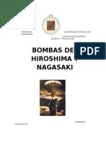 bomba de hiroshima y nagasaky