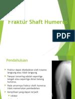 Fraktur Shaft Humerus
