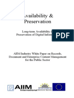 [EN] DLM Forum Industry Whitepaper 05 | Availability & Preservation | Kodak | Robert M. Young | Hamburg 2002