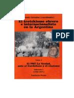 El trotskismo obrero e internacionalista en Argentina Tomo 4 Vol 1