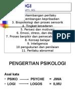 Pengertian Dan Sejarah Psikologi
