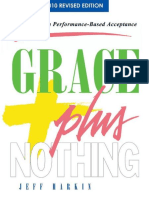 Grace Plus Nothing - Jeff Harkin