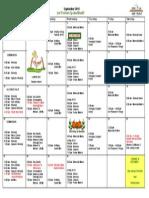 MLC September 2015 Calendar