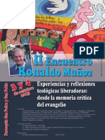 II Encuentro Ronaldo Muñoz