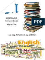 English Revision Guide HIGHER